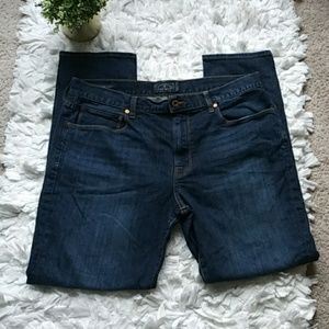 Lucky Brand 10 authentic skinny jeans dark wash